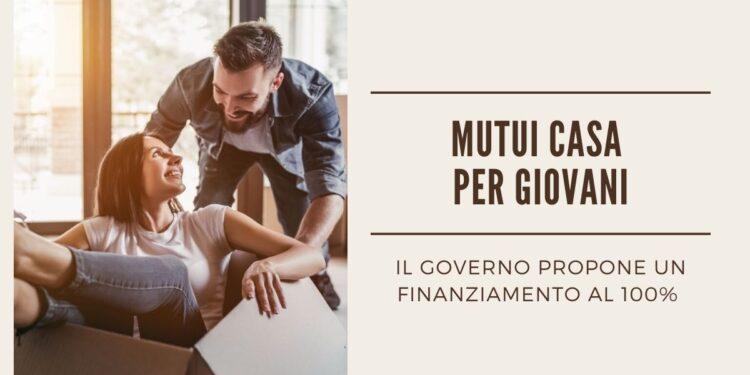 Mutui casa per giovani, il governo propone un finanziamento al 100% - Mancini Immobiliare Roma