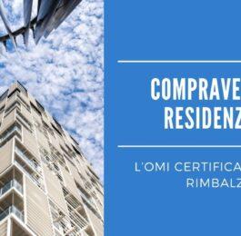 Compravendite residenziali, l'OMI certifica l'atteso rimbalzo